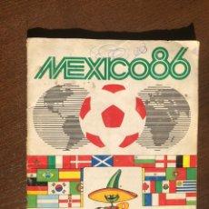 Álbum de fútbol completo: ALBUM PANINI FUTBOL WORLD CUP MEXICO 86 MUNDIAL COMPLETO. Lote 194620425