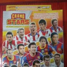 Álbum de fútbol completo: CROMO STARTS 2017. Lote 194627543