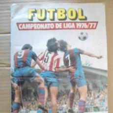 Álbum de fútbol completo: EDICIONES ESTE ALBUM LIGA 1976/77 CON TODOS LOS DOBLES EDITADOS Y MUCHOS FICHAJES. Lote 194646043