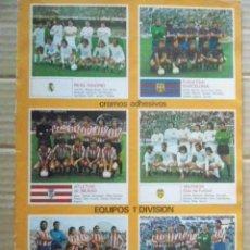 Álbum de fútbol completo: ESTE 78/79 POSTER CENTRAL COMPLETO,SUELTO DEL ALBUM.. Lote 194666560