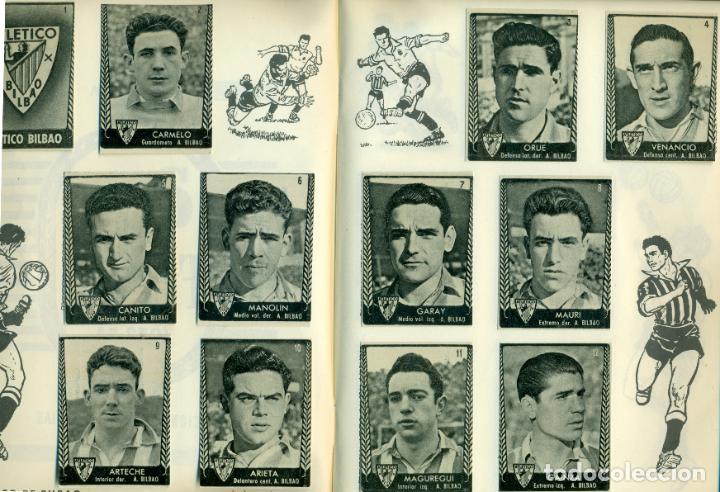 Álbum de fútbol completo: ASES DEL FUTBOL DE BRUGUERA LIGA 1953-54 COMPLETO. FACILIDADES DE PAGO - Foto 3 - 194752645