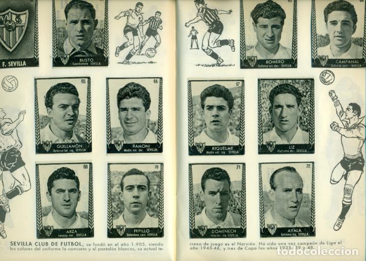 Álbum de fútbol completo: ASES DEL FUTBOL DE BRUGUERA LIGA 1953-54 COMPLETO. FACILIDADES DE PAGO - Foto 4 - 194752645