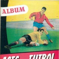 Álbum de fútbol completo: ASES DEL FUTBOL DE BRUGUERA LIGA 1953-54 COMPLETO. Lote 194752645