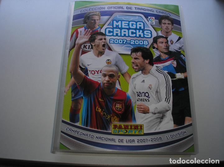 MEGACRACKS 2007- 2008 ALBUM COMPLETO (...MENOS 2 FICHAS INDICES) 07 08 (Coleccionismo Deportivo - Álbumes y Cromos de Deportes - Álbumes de Fútbol Completos)