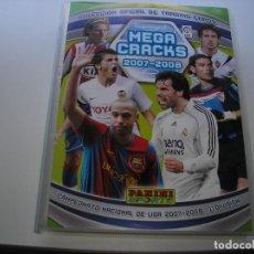 Álbum de fútbol completo: MEGACRACKS 2007- 2008 ALBUM COMPLETO (...MENOS 2 FICHAS INDICES). Lote 194862988