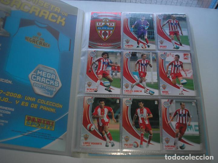 Álbum de fútbol completo: MEGACRACKS 2007- 2008 ALBUM COMPLETO (...MENOS 2 FICHAS INDICES) 07 08 - Foto 2 - 194862988