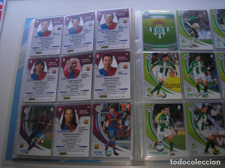 Álbum de fútbol completo: MEGACRACKS 2007- 2008 ALBUM COMPLETO (...MENOS 2 FICHAS INDICES) 07 08 - Foto 5 - 194862988
