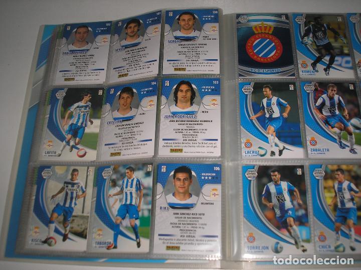 Álbum de fútbol completo: MEGACRACKS 2007- 2008 ALBUM COMPLETO (...MENOS 2 FICHAS INDICES) 07 08 - Foto 7 - 194862988