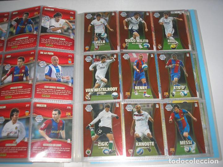Álbum de fútbol completo: MEGACRACKS 2007- 2008 ALBUM COMPLETO (...MENOS 2 FICHAS INDICES) 07 08 - Foto 17 - 194862988