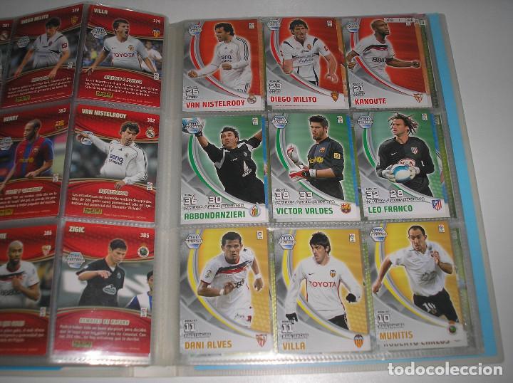 Álbum de fútbol completo: MEGACRACKS 2007- 2008 ALBUM COMPLETO (...MENOS 2 FICHAS INDICES) 07 08 - Foto 18 - 194862988