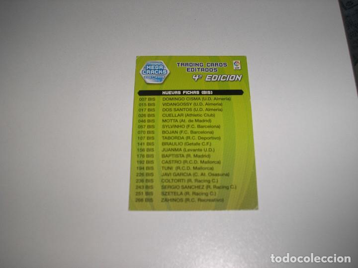 Álbum de fútbol completo: MEGACRACKS 2007- 2008 ALBUM COMPLETO (...MENOS 2 FICHAS INDICES) 07 08 - Foto 30 - 194862988