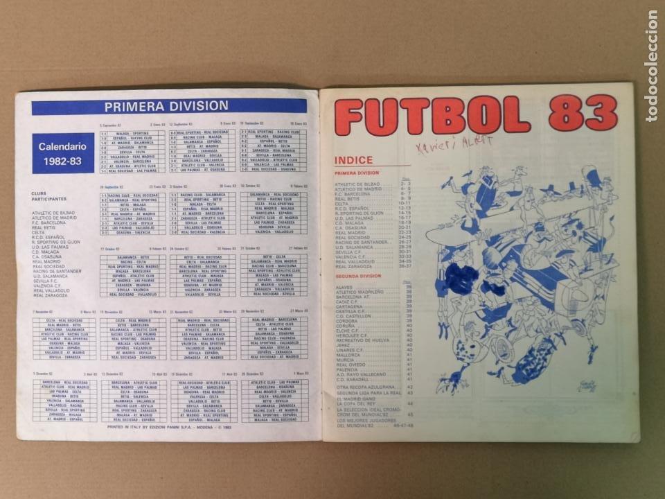 Álbum de fútbol completo: FÚTBOL 83 1° Y 2°DIVISION PANINI - Foto 2 - 194880415