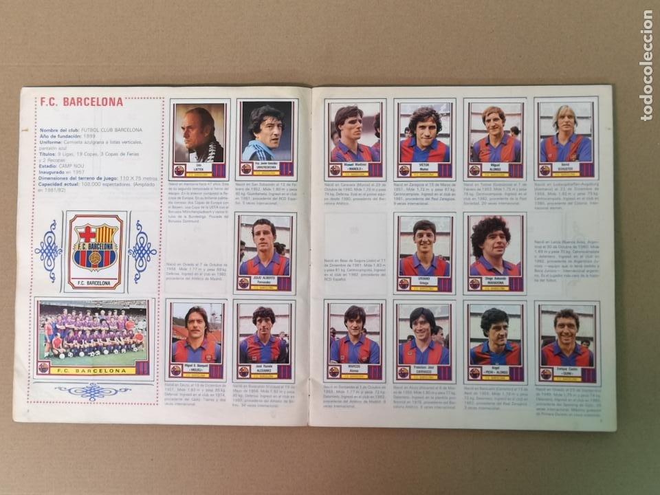 Álbum de fútbol completo: FÚTBOL 83 1° Y 2°DIVISION PANINI - Foto 5 - 194880415