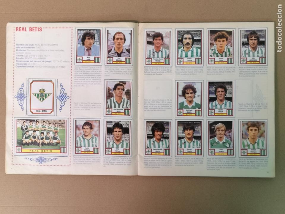 Álbum de fútbol completo: FÚTBOL 83 1° Y 2°DIVISION PANINI - Foto 6 - 194880415