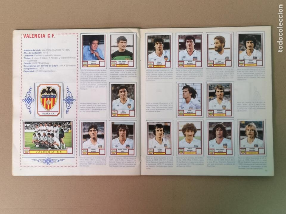 Álbum de fútbol completo: FÚTBOL 83 1° Y 2°DIVISION PANINI - Foto 18 - 194880415