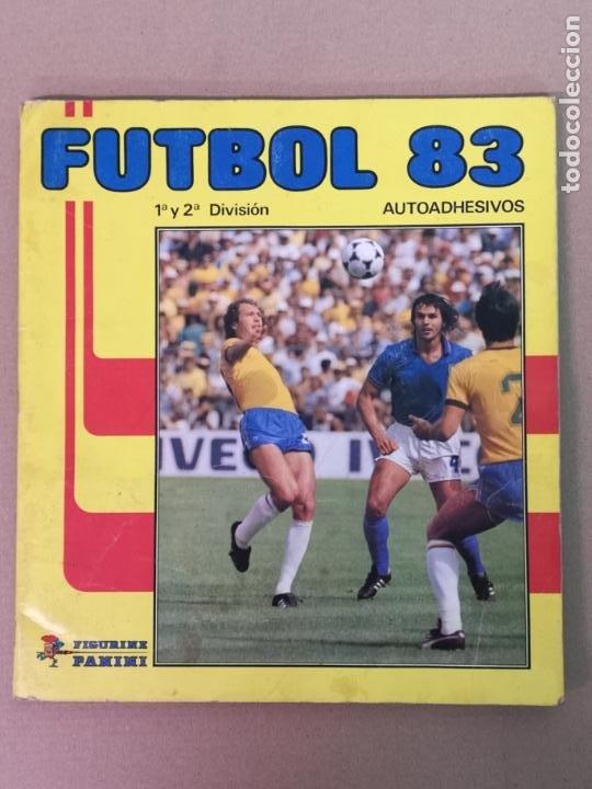 FÚTBOL 83 1° Y 2°DIVISION PANINI (Coleccionismo Deportivo - Álbumes y Cromos de Deportes - Álbumes de Fútbol Completos)