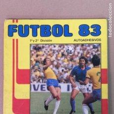 Álbum de fútbol completo: FÚTBOL 83 1° Y 2°DIVISION PANINI. Lote 194880415