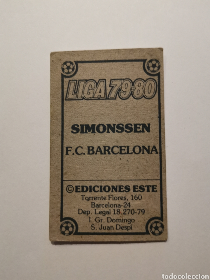 Álbum de fútbol completo: Simonssen 1979/80 nuevo 79/80 - Foto 2 - 194897450