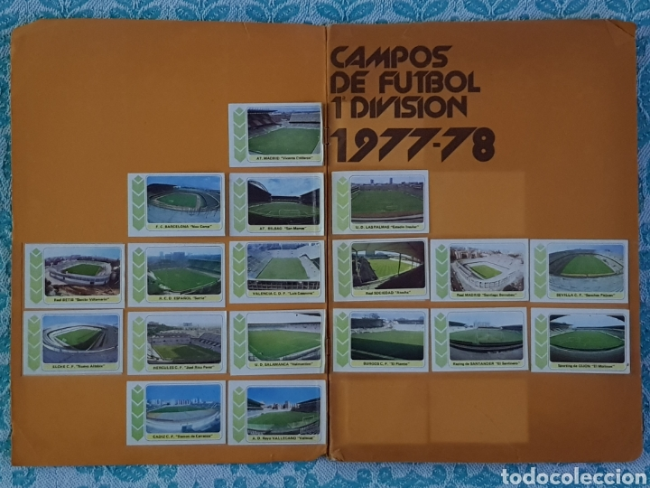 Álbum de fútbol completo: PACOSA 2 FUTBOL EN ACCIÓN 1977-1978 ALBUM COMPLETO CROMOS NUEVOS PEGADO SUPERIOR 77-78 - Foto 6 - 194916396