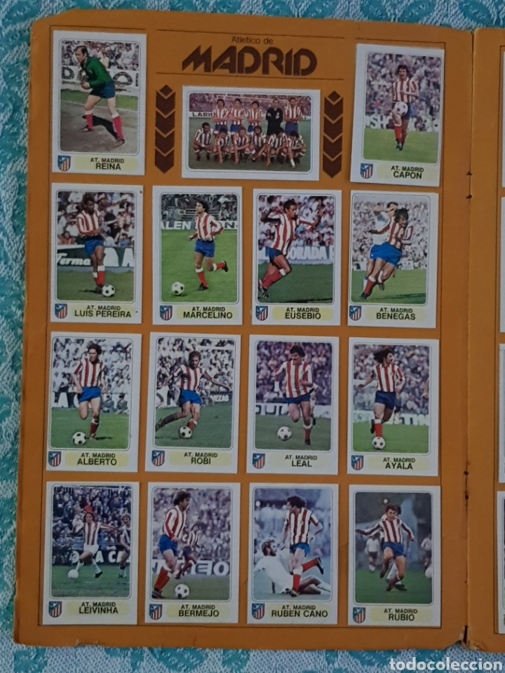 Álbum de fútbol completo: PACOSA 2 FUTBOL EN ACCIÓN 1977-1978 ALBUM COMPLETO CROMOS NUEVOS PEGADO SUPERIOR 77-78 - Foto 7 - 194916396