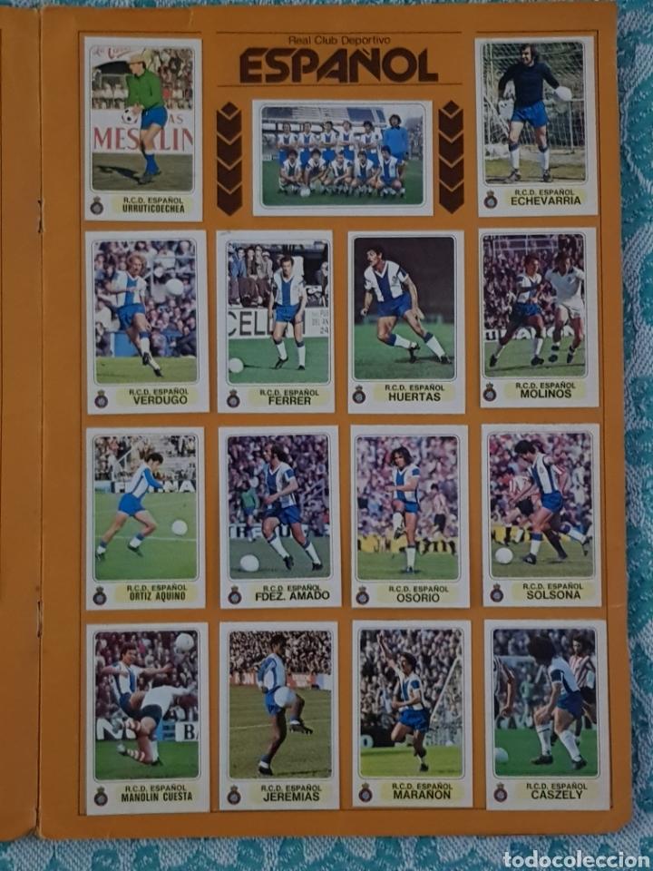 Álbum de fútbol completo: PACOSA 2 FUTBOL EN ACCIÓN 1977-1978 ALBUM COMPLETO CROMOS NUEVOS PEGADO SUPERIOR 77-78 - Foto 13 - 194916396