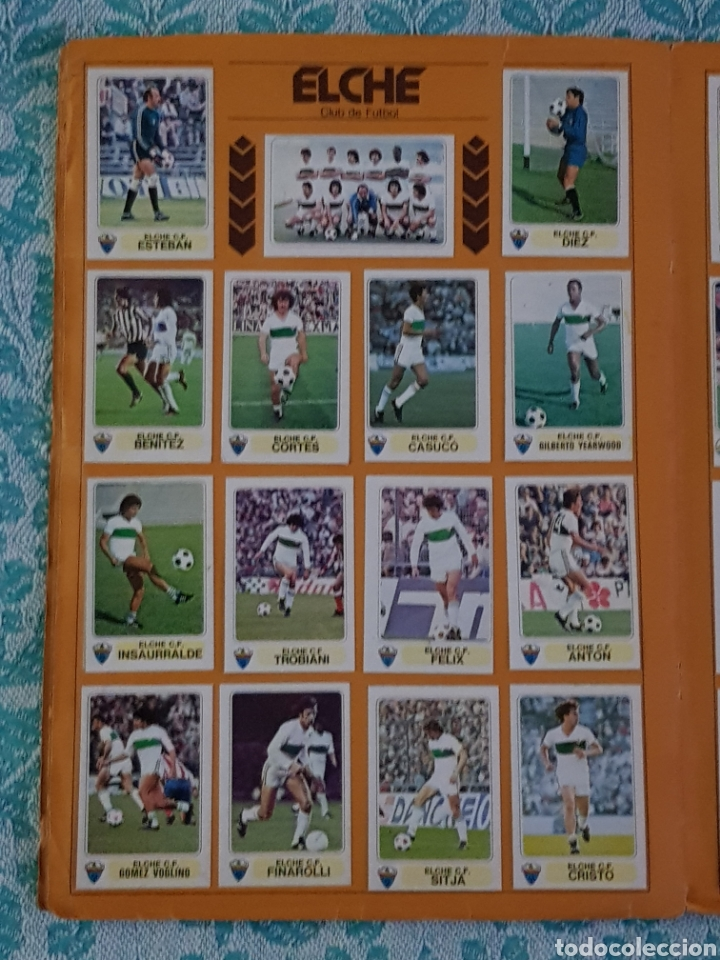 Álbum de fútbol completo: PACOSA 2 FUTBOL EN ACCIÓN 1977-1978 ALBUM COMPLETO CROMOS NUEVOS PEGADO SUPERIOR 77-78 - Foto 18 - 194916396