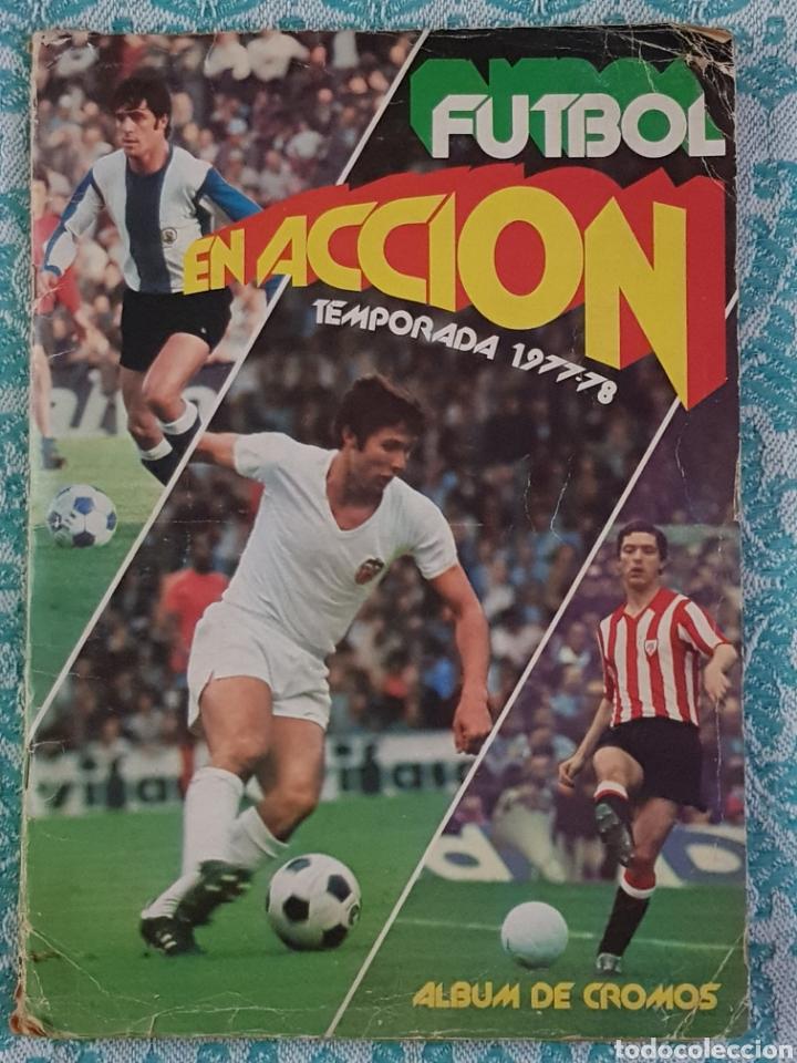 PACOSA 2 FUTBOL EN ACCIÓN 1977-1978 ALBUM COMPLETO CROMOS NUEVOS PEGADO SUPERIOR 77-78 (Coleccionismo Deportivo - Álbumes y Cromos de Deportes - Álbumes de Fútbol Completos)