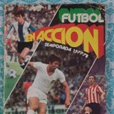 Álbum de fútbol completo: PACOSA 2 FUTBOL EN ACCIÓN 1977-1978 ALBUM COMPLETO CROMOS NUEVOS PEGADO SUPERIOR 77-78. Lote 194916396