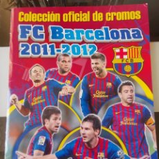 Álbum de fútbol completo: ÁLBUM CROMOS ED. PANINI F.C. BARCELONA 2011 2012 COMPLETO. Lote 194936640