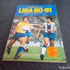 Álbum de fútbol completo: ALBUM 80/81 // MUY BIEN CONSERVADO CON LO 4 PINTADOS CON DOBLES Y CON LOS 50 ASES EN ACCION . Lote 194950970