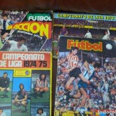 Álbum de fútbol completo: CUATRO ALBUM FUTBOL. 2 COMPLETOS, VER IMAGENES ESTADO Y FALTAS. Lote 194993501