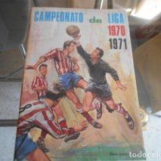 Álbum de fútbol completo: ALBUM FUTBOL COMPLETO CAMPEONATO LIGA 1970 / 1971 - DISGRA - TOTAL 256 CROMOS. Lote 194994051