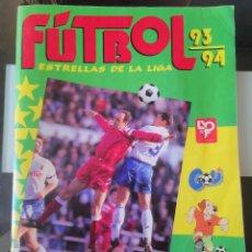 Álbum de fútbol completo: ÁLBUM CROMOS ED. PANINI FÚTBOL 93-94, 1993-1994 ESTRELLAS DE LA LIGA COMPLETO. Lote 195020186