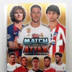 Álbum de fútbol completo: TOPPS MATCH ATTAX UEFA CHAMPIONS LEAGUE 2019 2020 - COLECCIÓN COMPLETA 19 20 - EDICIÓN ESPAÑOLA. Lote 195028008