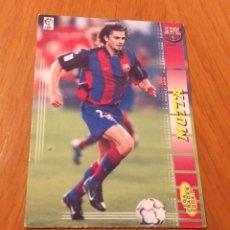 Álbum de fútbol completo: MEGACRACKS 2004 2005 MOTTA BARCELONA 04 05. Lote 195031060