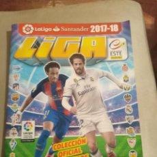 Álbum de fútbol completo: LIGA ESTE 2017- 2018. Lote 195037023