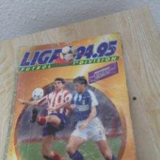 Álbum de fútbol completo: ALBUM CROMOS ESTE 94-95 COMPLETO TODOS LOS DOBLES Y FICHAJES. Lote 195048455