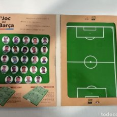 Álbum de fútbol completo: EL JOC DEL BARÇA JUEGO FUTBOL DE IMANES. Lote 195064958