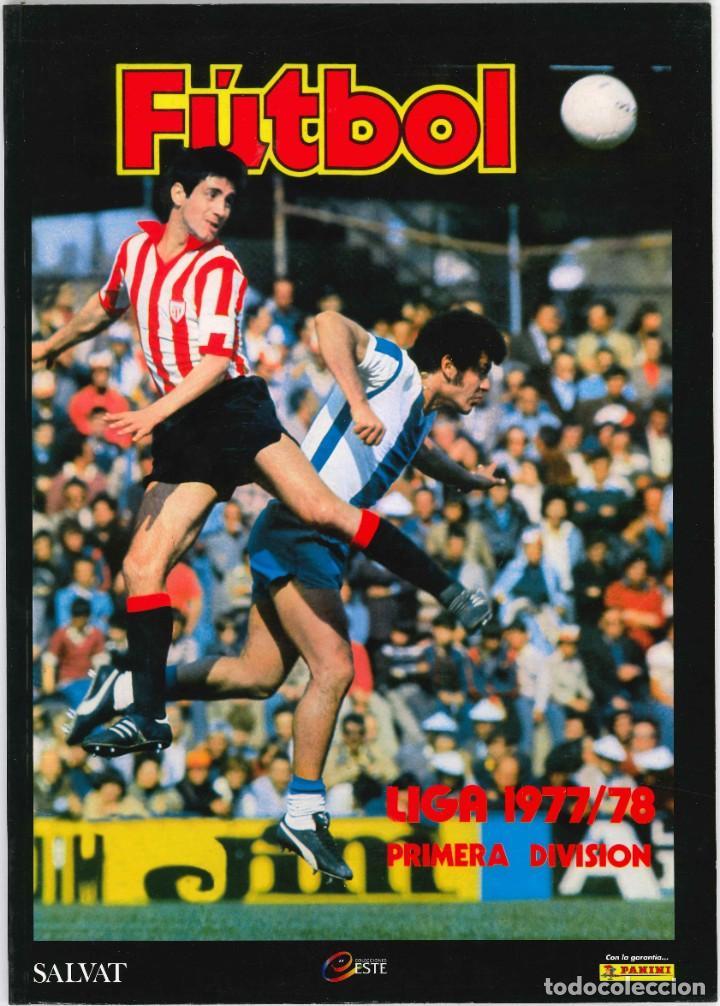 CROMOS INOLVIDABLES - EDICIONES ESTE - SALVAT - 1977-1978 (Coleccionismo Deportivo - Álbumes y Cromos de Deportes - Álbumes de Fútbol Completos)
