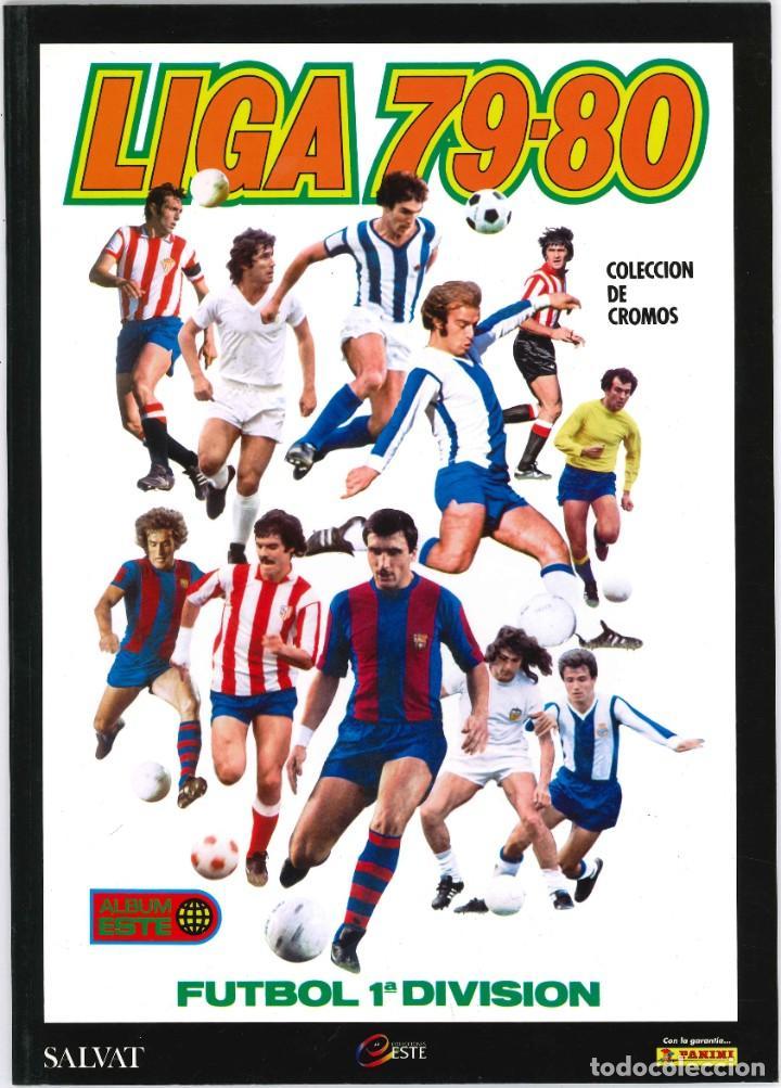 CROMOS INOLVIDABLES - EDICIONES ESTE - SALVAT - 1979-1980 (Coleccionismo Deportivo - Álbumes y Cromos de Deportes - Álbumes de Fútbol Completos)