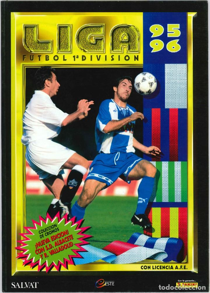 CROMOS INOLVIDABLES - EDICIONES ESTE - SALVAT - 1995-1996 (Coleccionismo Deportivo - Álbumes y Cromos de Deportes - Álbumes de Fútbol Completos)