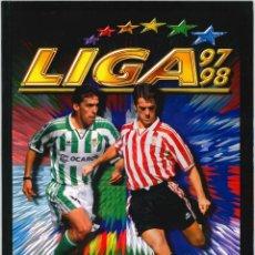Álbum de fútbol completo: CROMOS INOLVIDABLES - EDICIONES ESTE - SALVAT - 1997-1998. Lote 195142225