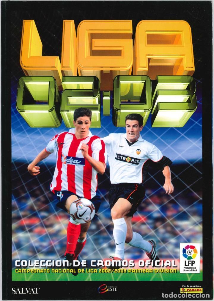 CROMOS INOLVIDABLES - EDICIONES ESTE - SALVAT - 2002-2003 (Coleccionismo Deportivo - Álbumes y Cromos de Deportes - Álbumes de Fútbol Completos)