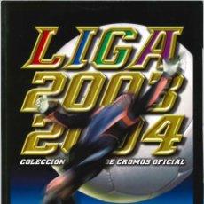 Álbum de fútbol completo: CROMOS INOLVIDABLES - EDICIONES ESTE - SALVAT - 2003-2004. Lote 195142350