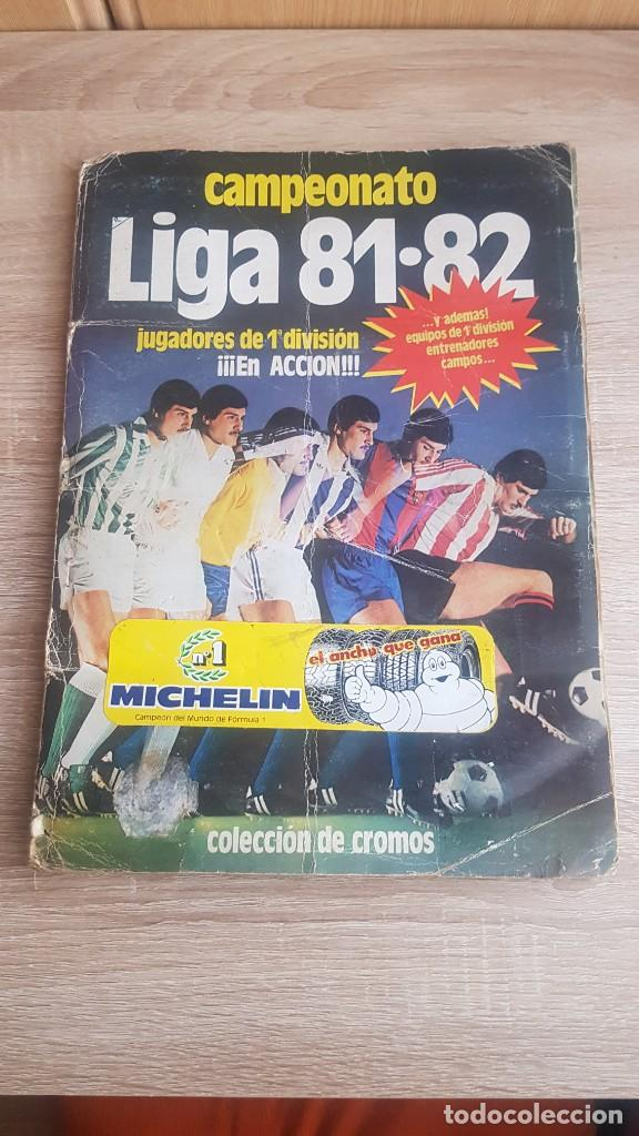 ÁLBUM CAMPEONATO LIGA 81-82 COLECCIÓN DE CROMOS (Coleccionismo Deportivo - Álbumes y Cromos de Deportes - Álbumes de Fútbol Completos)