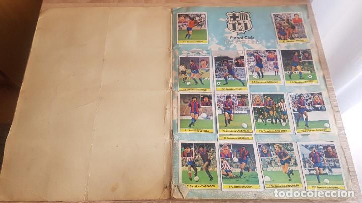 Álbum de fútbol completo: Álbum Campeonato Liga 81-82 Colección de cromos - Foto 2 - 195242020