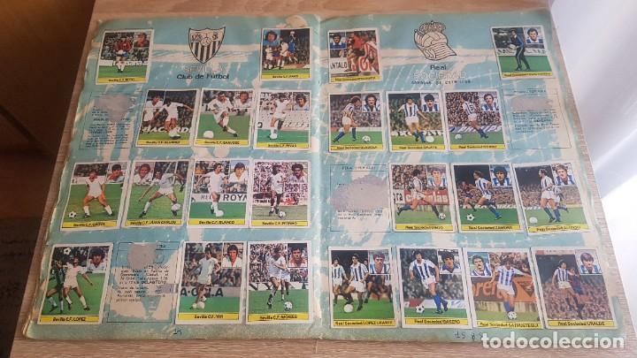 Álbum de fútbol completo: Álbum Campeonato Liga 81-82 Colección de cromos - Foto 9 - 195242020
