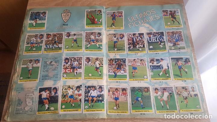 Álbum de fútbol completo: Álbum Campeonato Liga 81-82 Colección de cromos - Foto 11 - 195242020
