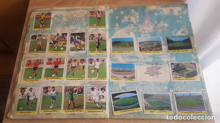 Álbum de fútbol completo: Álbum Campeonato Liga 81-82 Colección de cromos - Foto 12 - 195242020