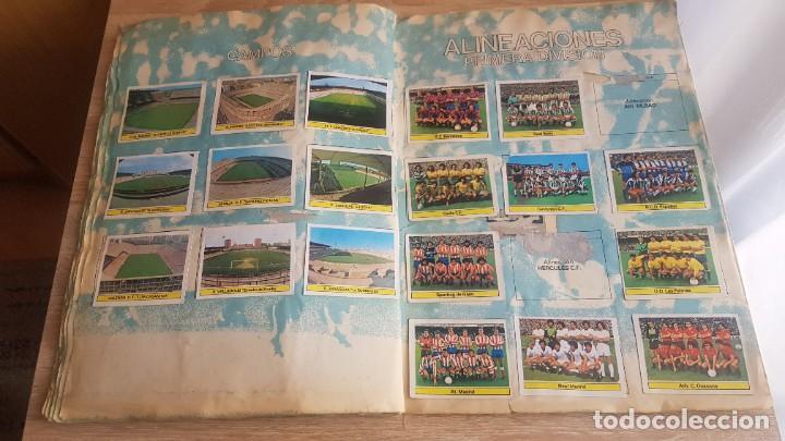Álbum de fútbol completo: Álbum Campeonato Liga 81-82 Colección de cromos - Foto 13 - 195242020